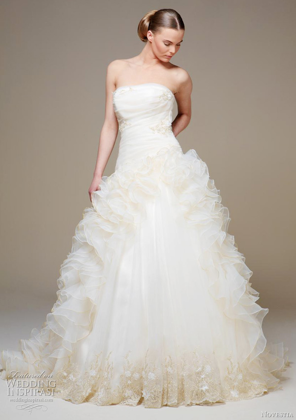 novestia 2011 wedding dresses wedding inspirasi