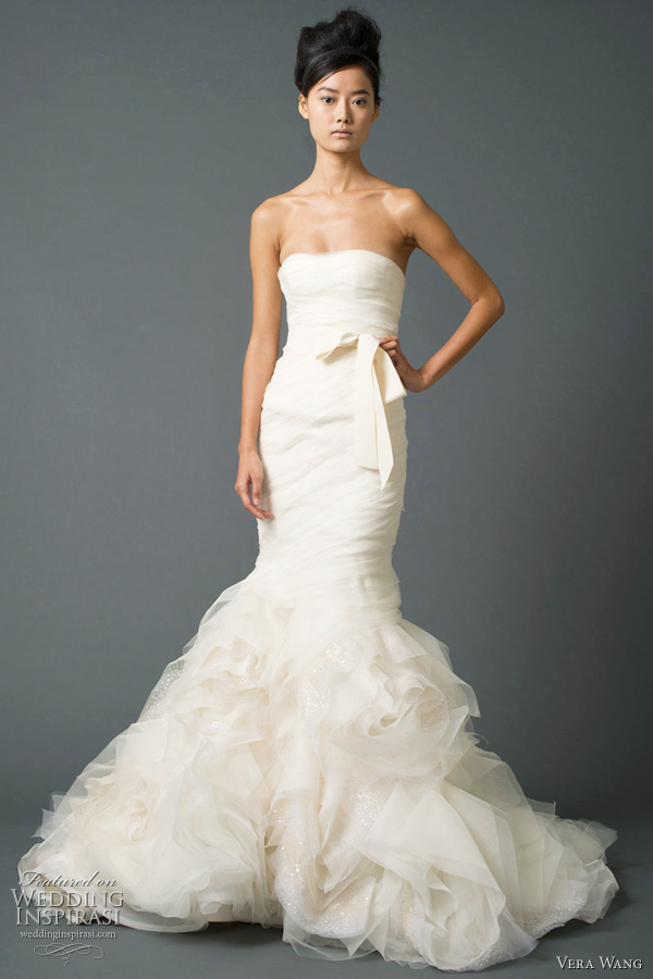 vera wang fall 2011 wedding dress