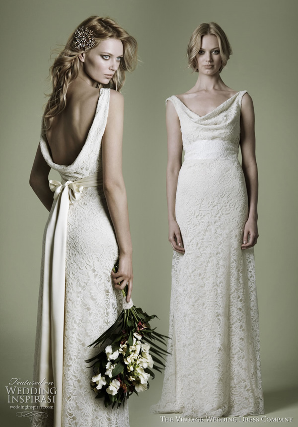 The Vintage Wedding Dress Company Decades Lace Bridal Gowns ...