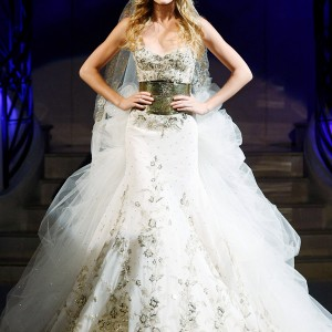 zuhair murad wedding dress 2011