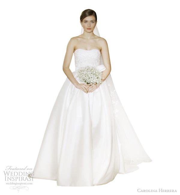 Carolina Herrera Wedding Dresses Spring 2012 Wedding
