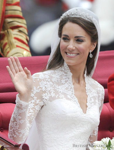 Royal Wedding 2011 - Catherine Middleton, the Duchess Cambridge