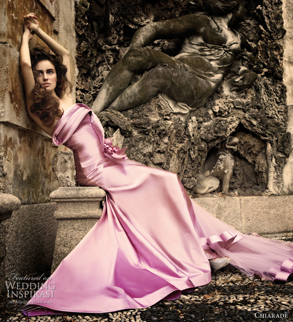 color wedding dresses 2011