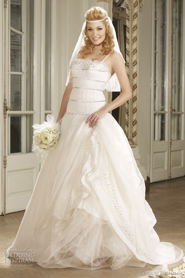 European Wedding Dress Designers 23 Great cosmina englizian wedding dresses