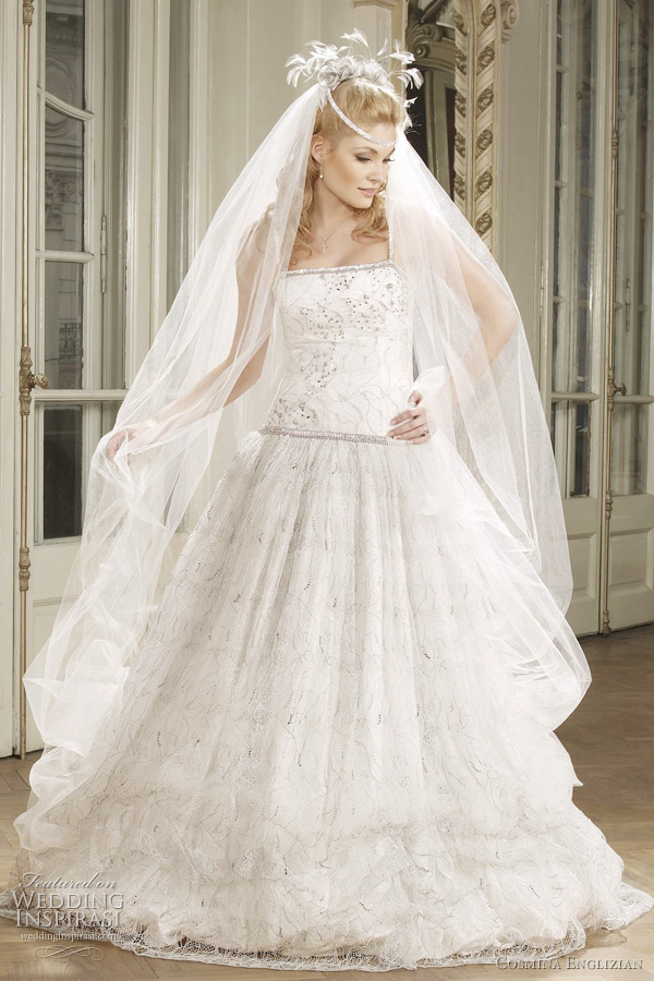 cosmina englizian couture ro 2011, bucharest, romania bridal collection