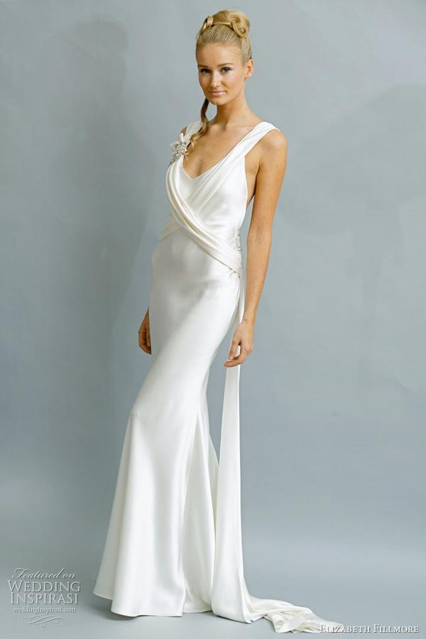 Low Open Back Wedding Dresses 73 Spectacular elizabeth fillmore bridal