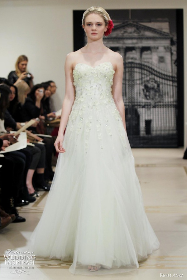 Reem Acra Wedding Dresses Spring 2014 ? Yes I Can Be A Princess