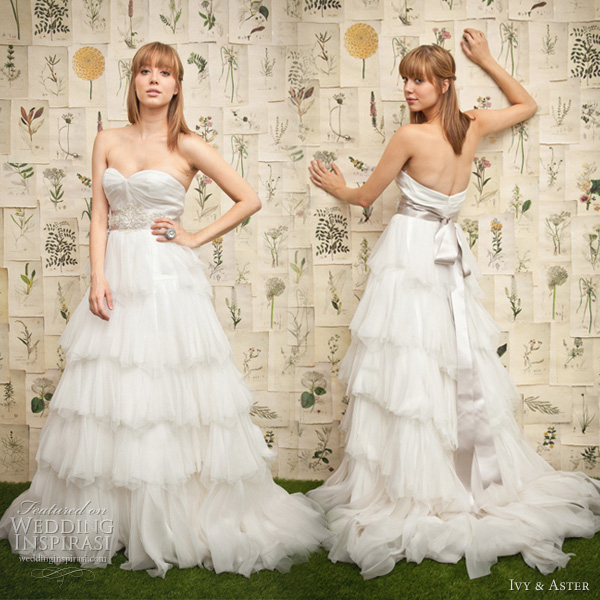 ivy aster wedding dresses 2011 in bloom