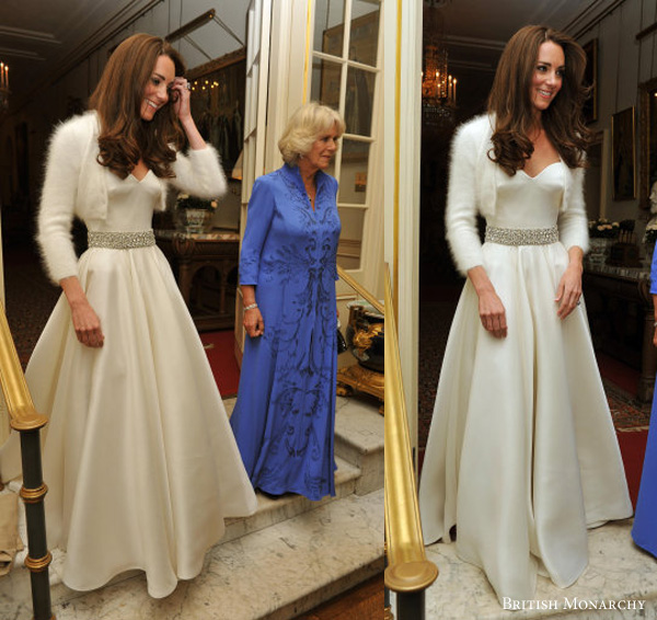 Kate middleton second wedding dress by Sarah Burton for Alexander Mcqueen