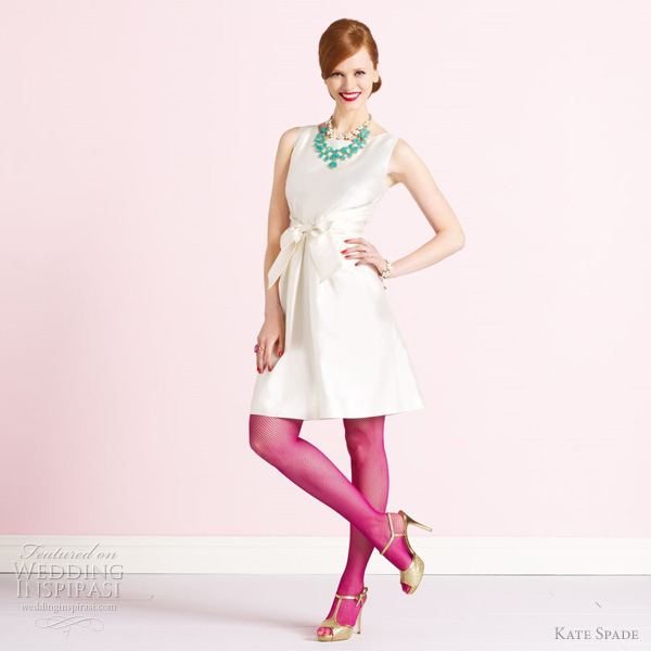 Kate Spade Short Wedding Dresses | Wedding Inspirasi