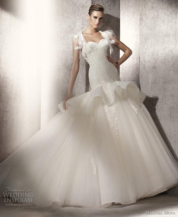 فساتين زفاف اوروبية احدث فساتين