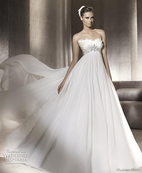 Princesa - manuel mota for pronovias wedding dress 2012