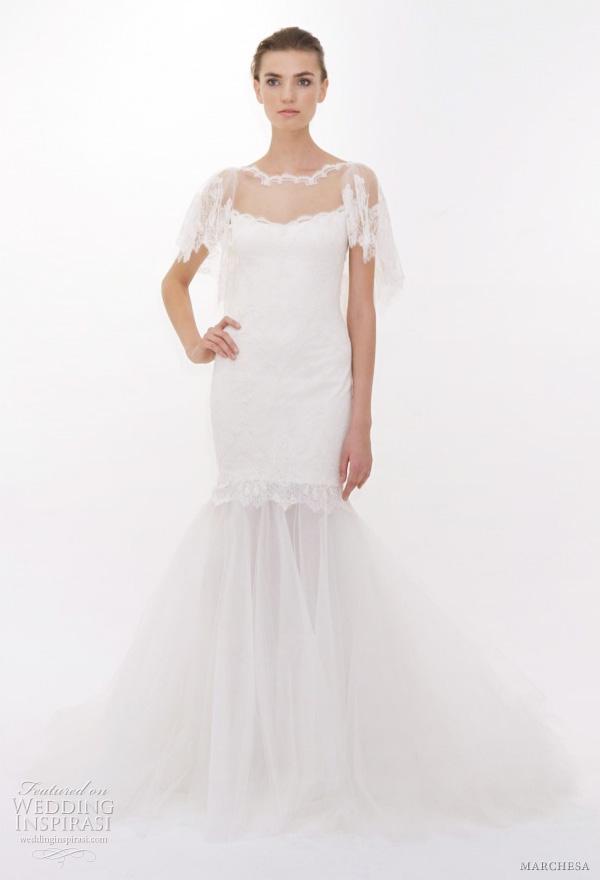 Butterfly Sleeve Wedding Dress 30 Great marchesa bridal wedding dresses