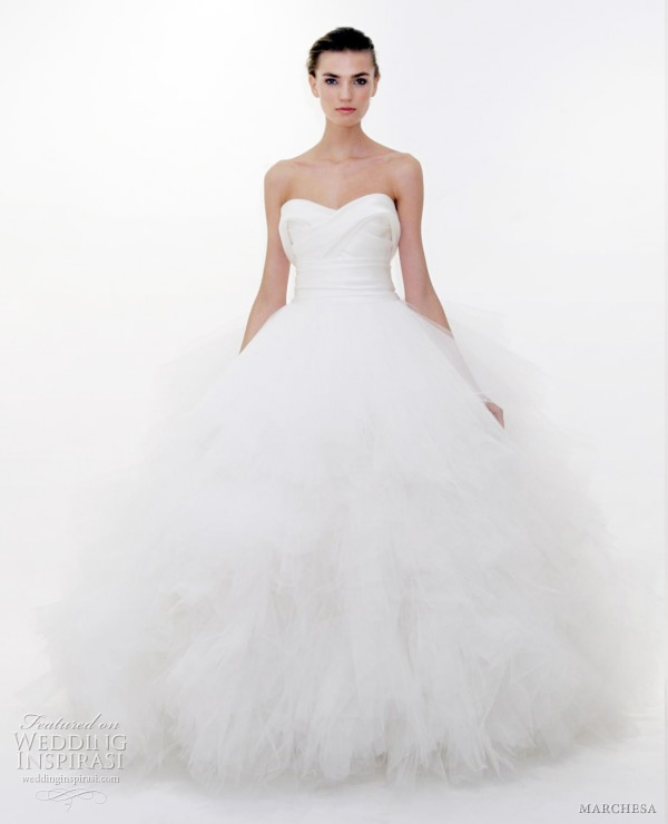 marchesa spring 2012 bridal  - wedding dress