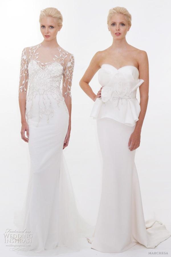 Marchesa Wedding Dresses Spring 2012   Wedding Inspirasi