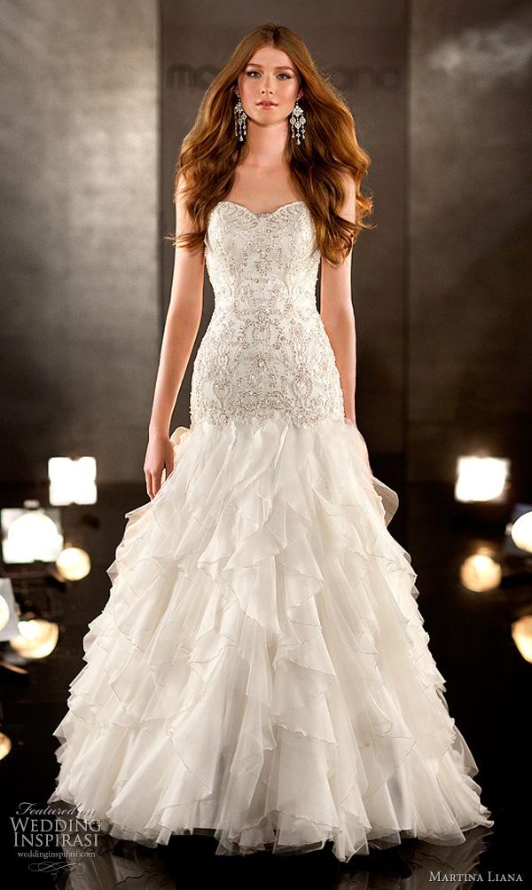 martina liana 332 wedding dress 2011 bridal collection