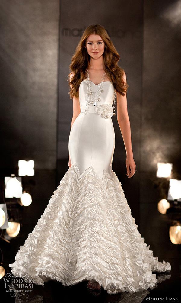 martina liana 338 wedding dress 2011 bridal collection