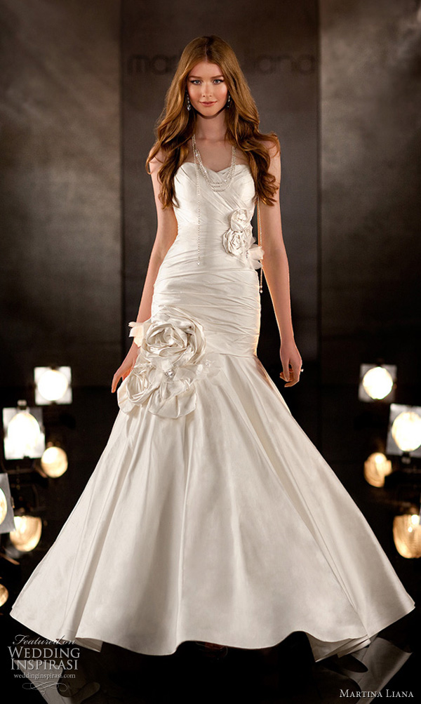 martina liana 345 wedding dress 2011 bridal collection
