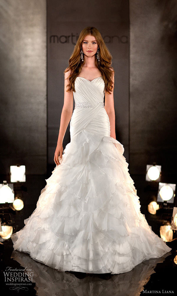 martina liana wedding dresses 2011 wedding inspirasi