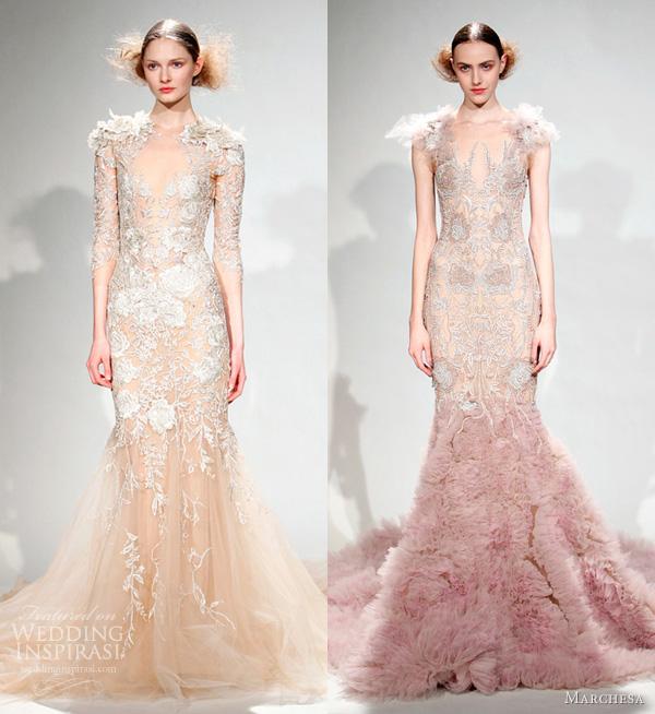 Marchesa Wedding Gown: Royal Wedding Dress Watch