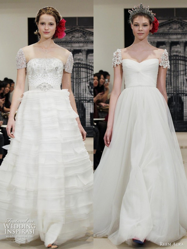 Reem Acra Wedding Dresses Spring 2012 — Yes, I Can Be A Princess Too ...