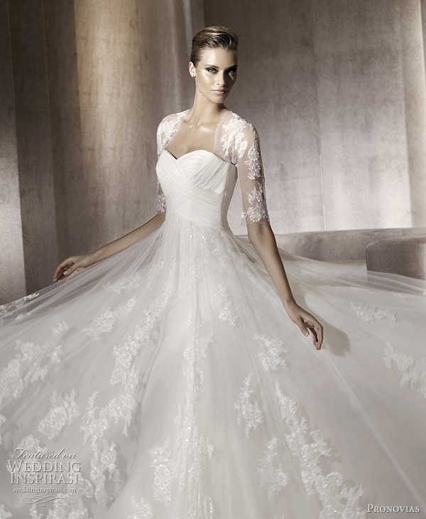 pronovias 2012 pergola wedding dress