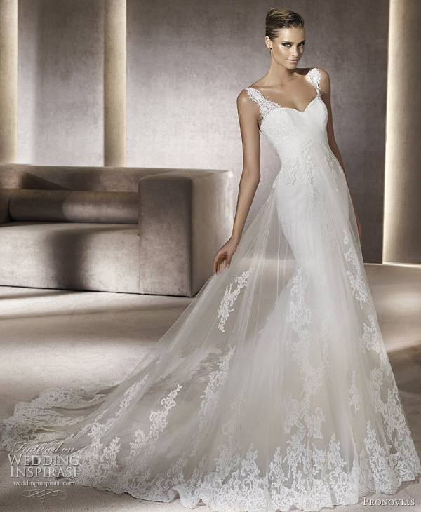 pronovias 2012 petunia wedding gown