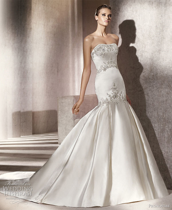 pronovias 2012 pinal wedding dress
