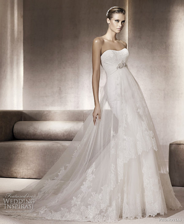 pronovias 2012 pompeya wedding dress