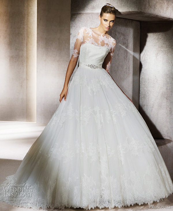 pronovias 2012 wedding dress peral