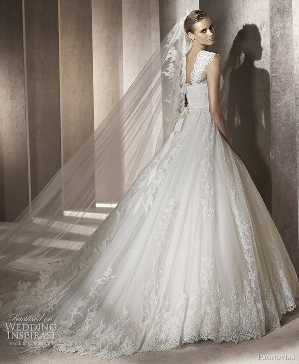pronovias 2012 wedding dresses pomelo
