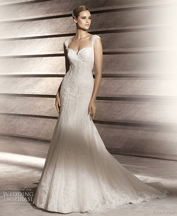 pronovias bridal 2012 patty wedding dress