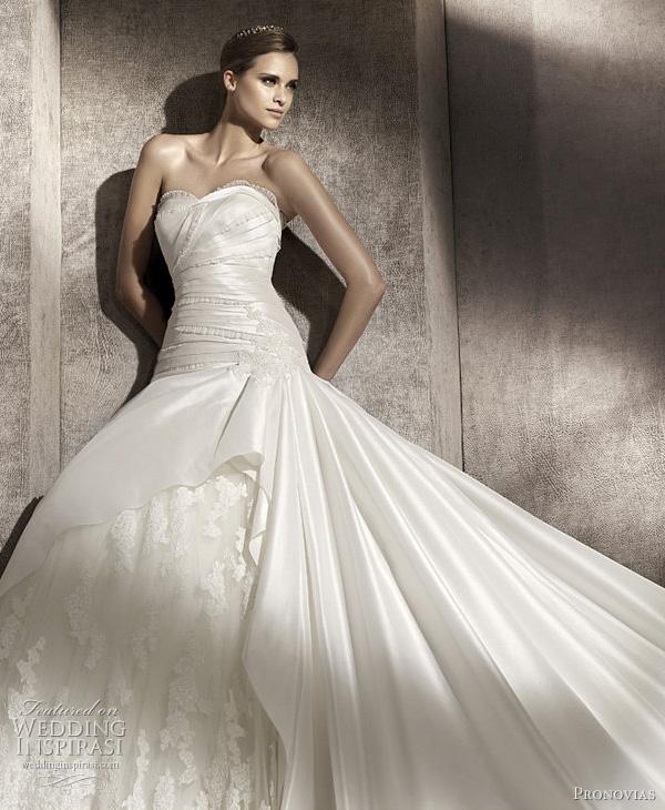 Pronovias Wedding Dresses 2012 — Glamour,