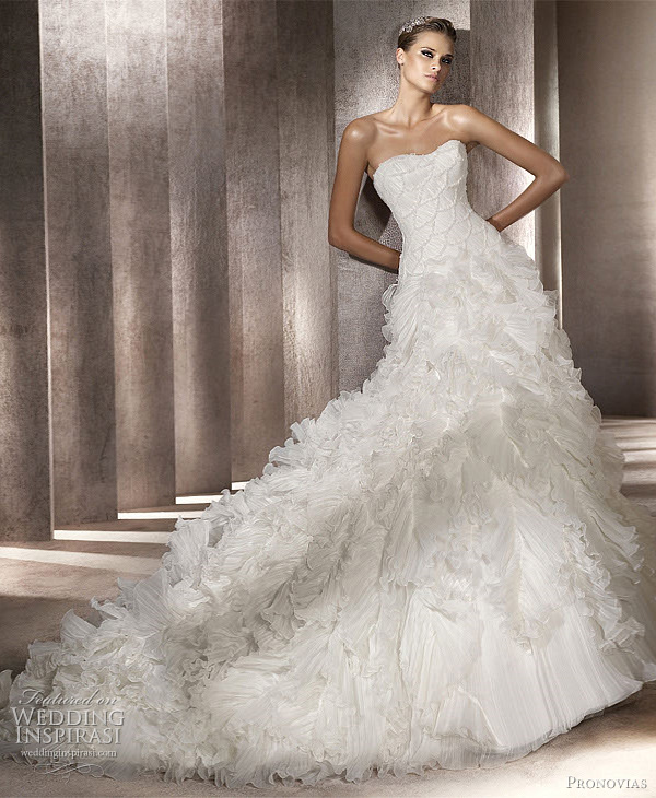 pronovias wedding dresses 2012 � glamour dreams amp ball
