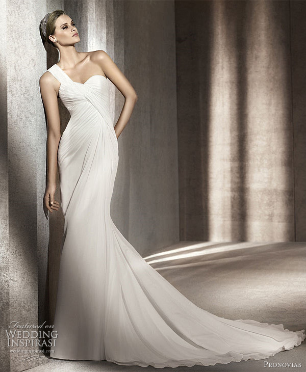 pronovias paris wedding dress 2012