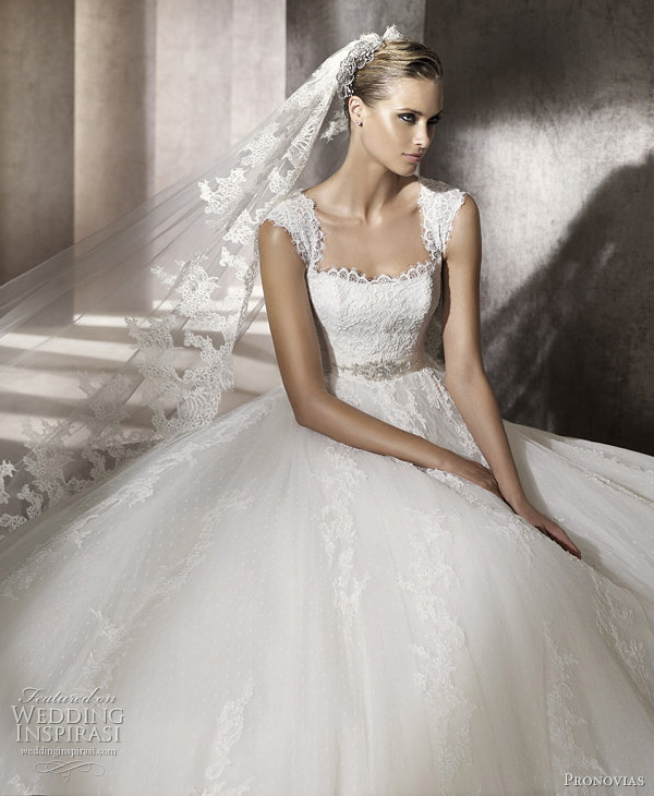 pronovias wedding dresses 2012 pomelo - advance bridal collection