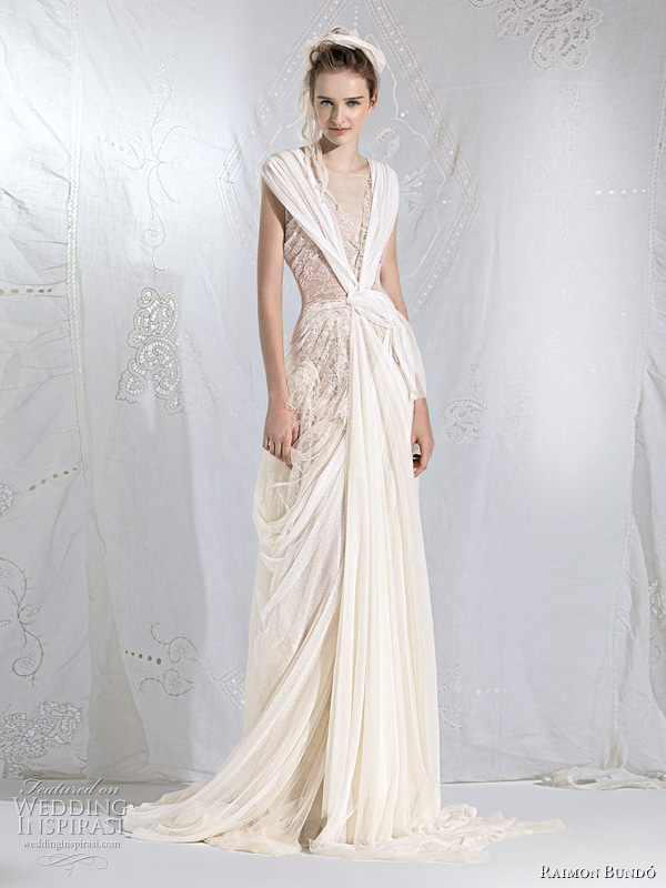 raimon bundo wedding dresses 2011 - Mitologico bridal gown