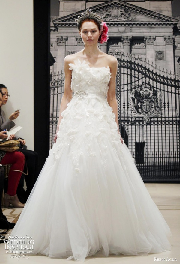 reem acra wedding dresses spring 2012 yes i can be a princess too