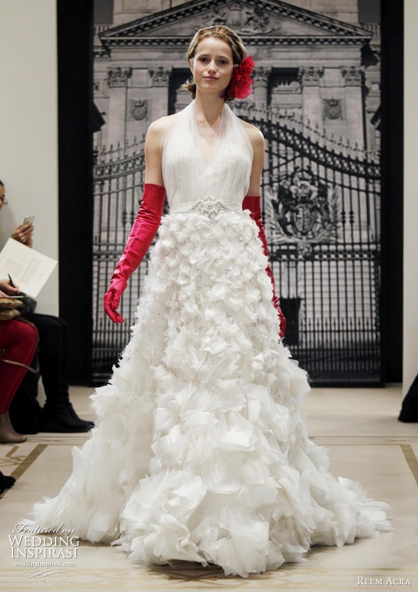 Reem Acra Wedding Dresses Spring 2012 — Yes, I Can Be A Princess ...