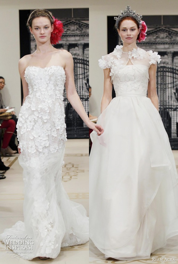 Reem acra wedding dresses spring 2012 yes i can be a princess too reem acra wedding dresses 2012 junglespirit Gallery