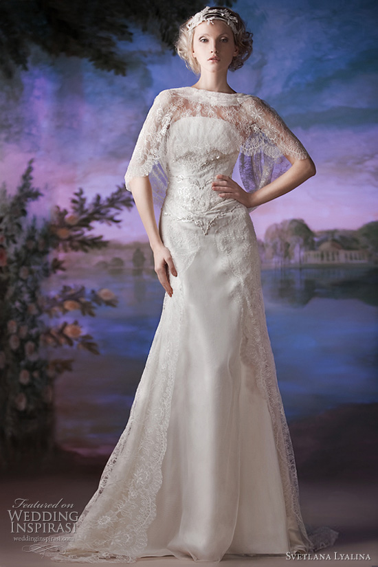 svetlana lyalina 2011 wedding dress
