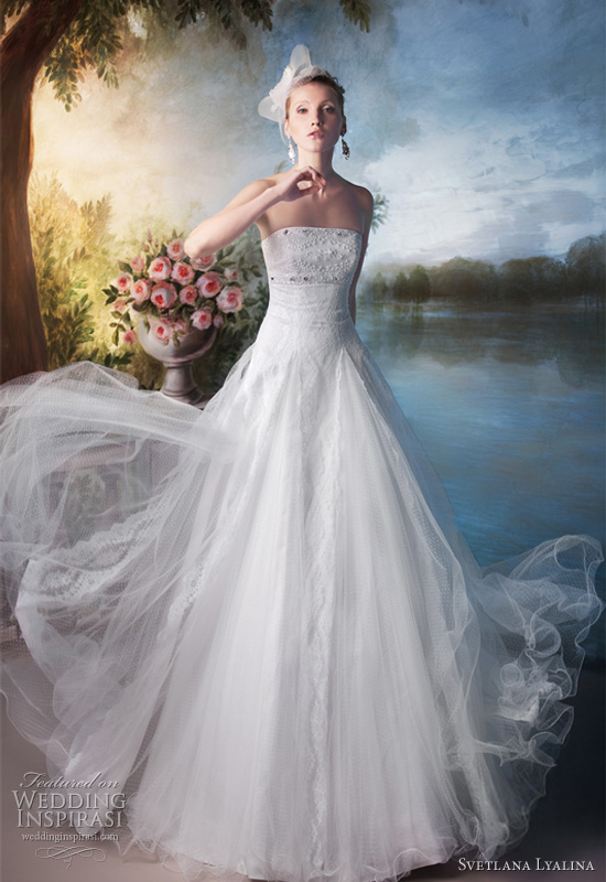 Svetlana Lyalina Russian Wedding Dress