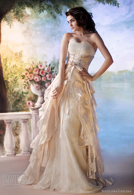 svetlana lyalina wedding dress