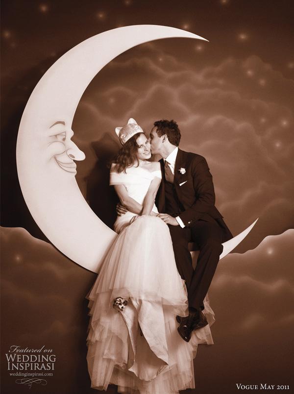 Vogue Wedding May 2011 - Charlotte Dellal personal bridal photos