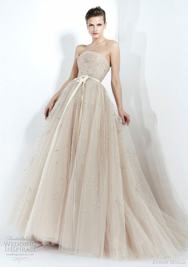 zuhair murad fall 2011 wedding dress