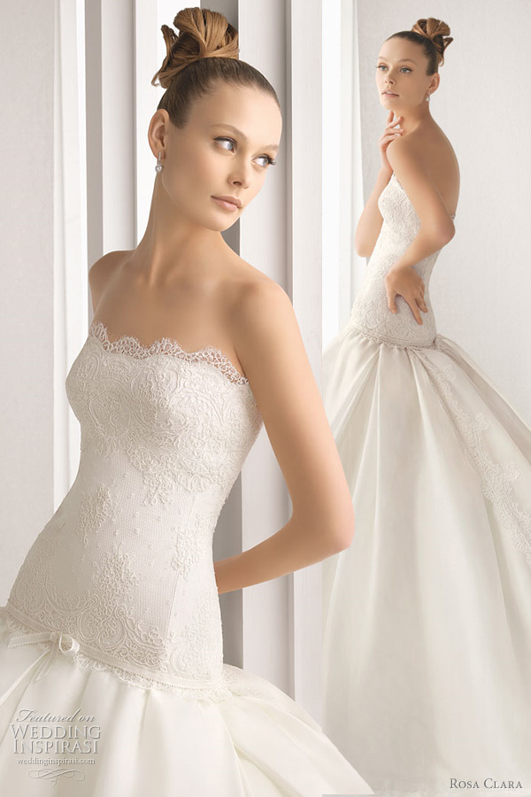 2012 rosa clara acacia wedding dress