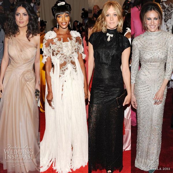 Sarah Jessica Parker Wedding Gown: Alexander McQueen: Savage Beauty Met Ball Gala 2011
