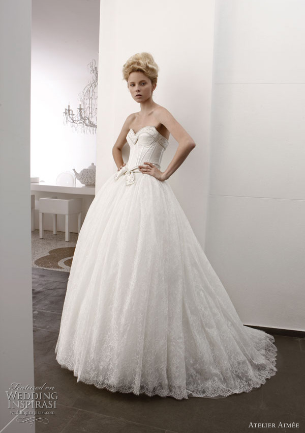 atelier aimee wedding gowns 2011