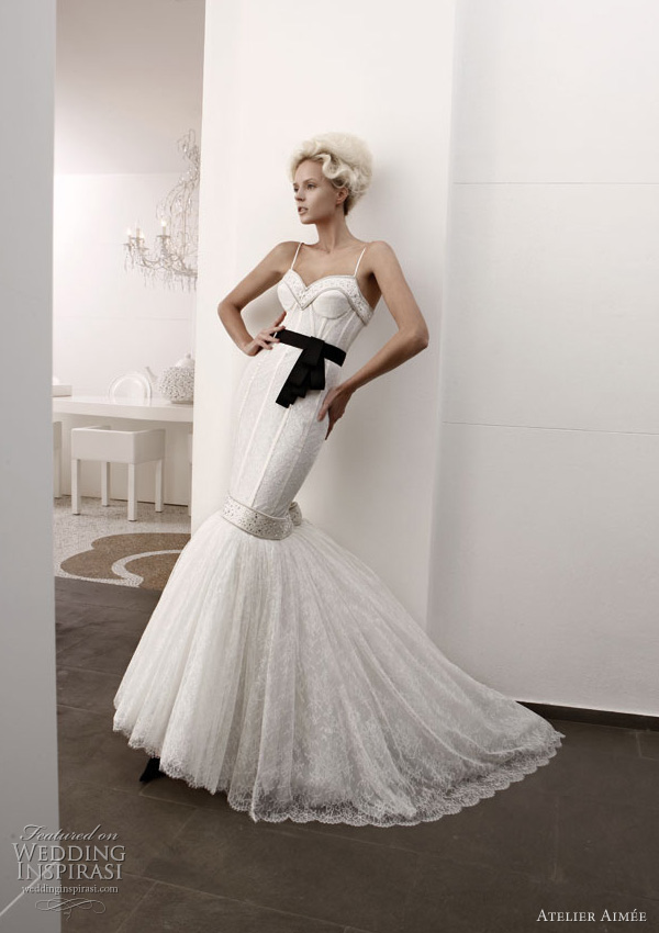 Atelier Aimee Wedding Dresses Black And White Collection Ball
