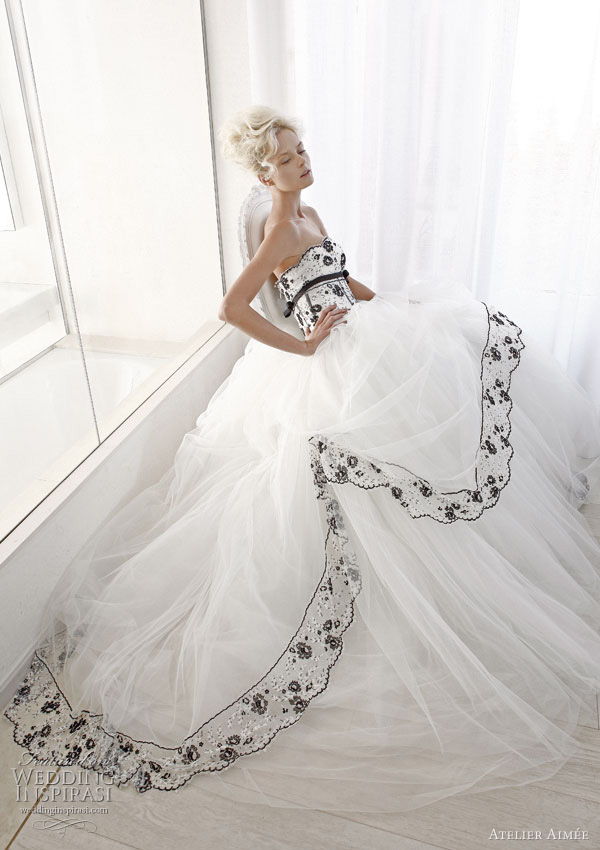 Atelier Aimee Wedding Dresses Black And White Collection